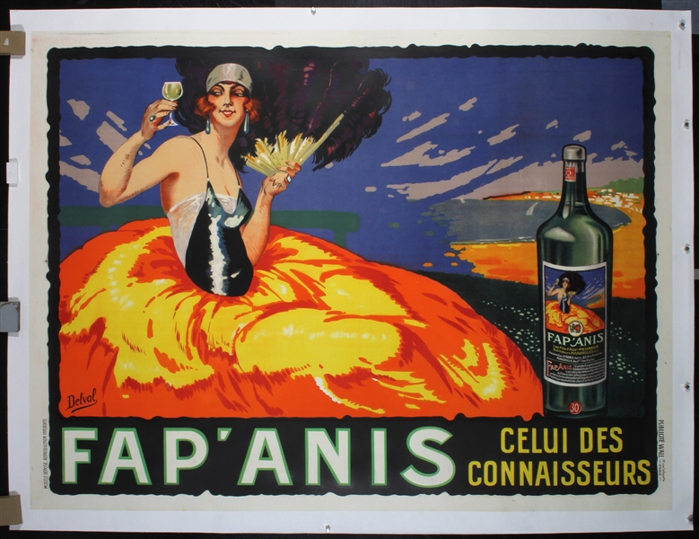 Fap Anis by Delval. 1924