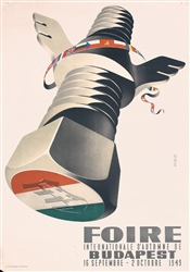 Foire Internationale - Budapest by Gy. Szilas. 1949