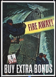 Fire Away by Georges Schreiber. 1944