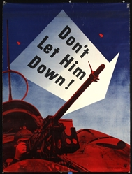 Don´t let him down by Lester Beall. 1942