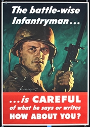 The battle-wise Infantryman by Jes. Williams Schlaikjer. 1944