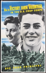 Be a Victory Farm Volunteer by Anonymous - USA. 1943