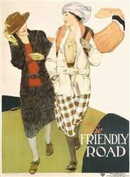 The Friendly Road (YWCA) by Anita Parkhurst. ca. 1924