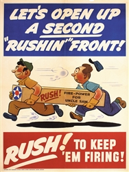 Rush - Lets open up a second Rushin Front by Anonymous. 1942