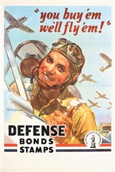You buy em well fly em! (Large Version) by Wilkinsons. 1942
