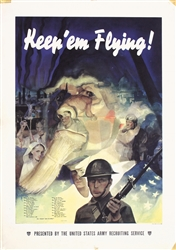 Keep ´em flying by Cecil Calvert  Beall. 1941