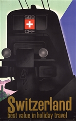 Switzerland by Willy Trapp. 1932