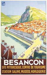 Besancon by Roger Broders. ca. 1928