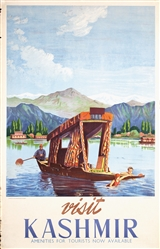 Visit Kashmir by Anonymous. 1949