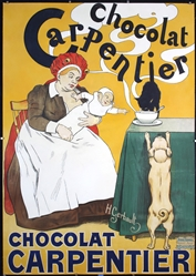 Chocolat Carpentier by Henri Gerbault. 1895