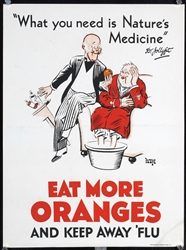 Eat More Oranges by Leete, Alfred Chew  1882 - 1933. ca. 1928