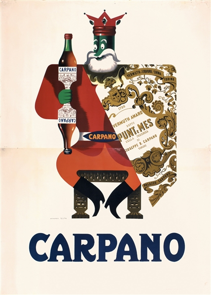Carpano by Testa, Armando  1917 - 1992. ca. 1956