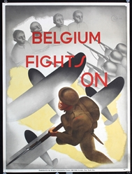 Belgium fights on by Sturbelle. ca. 1944