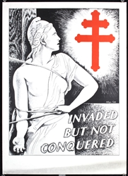 Invaded but not conquered by Allyn Cox. ca. 1942