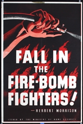 Fall in the Fire-Bomb Fighters by Anonymous. ca. 1944