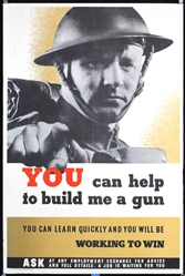 You can help to build me a gun by Anonymous. ca. 1944