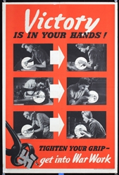 Victory is in your hands by Anonymous. ca. 1943