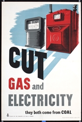 Cut Gas and Electricity by Anonymous. ca. 1944