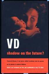 VD - shadow on the future? (2 Posters) by Henrion. ca. 1945