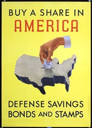 Buy a Share in America by Henry Billings. 1941