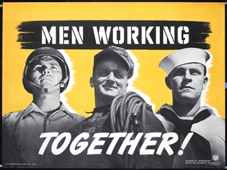 Men Working Together by Anonymous. 1941