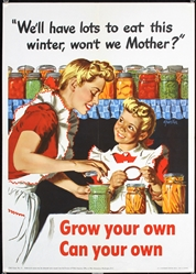 Well have lots to eat this winter by A. Parker. 1943