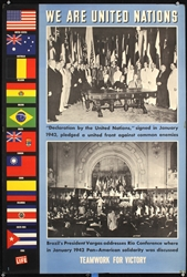 We are United Nations (20 + 2 Posters) by Various Artists. ca. 1948