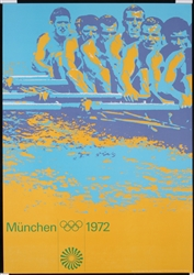 Olympic Games (Rowing) by Otl Aicher. 1972